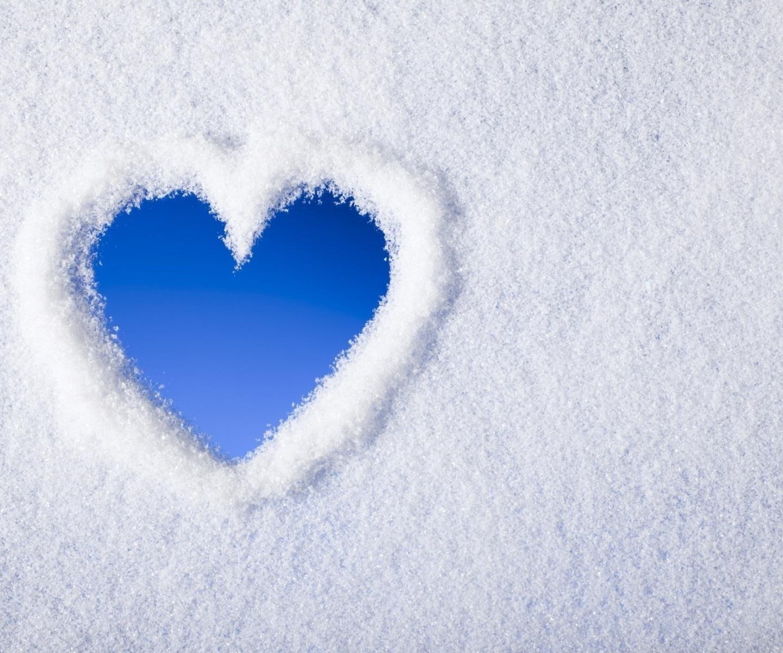 Egy nyom a hóban